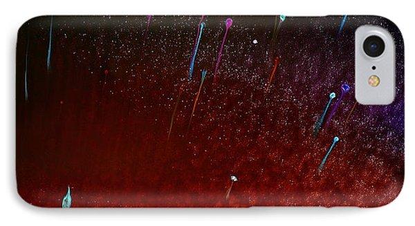 Little Balloons Horizontal Abstract Art By Kredart Phone Case by Serg Wiaderny
