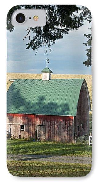 Little Barn On The Palouse IPhone Case