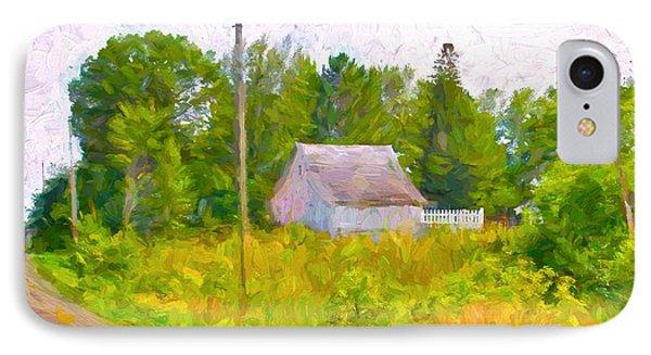 Little Barn Redone In Minnesota IPhone Case by Susan Crossman Buscho