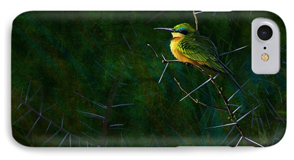 Little Bee Eater IPhone Case by Aaron Blaise
