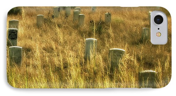Little Big Horn Gravesite IPhone Case by Clare VanderVeen