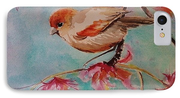 Little Bird  IPhone Case by Kathy  Karas