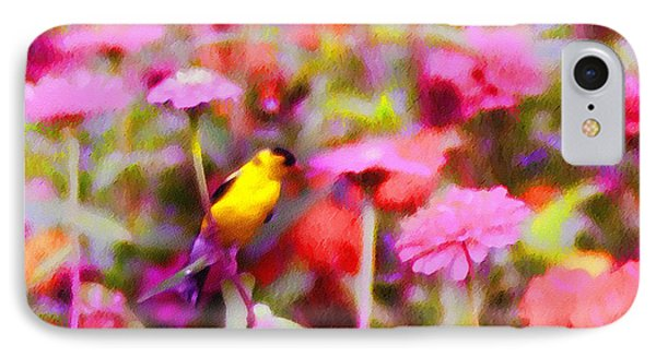 Little Birdie In The Spring Phone Case by Bill Cannon