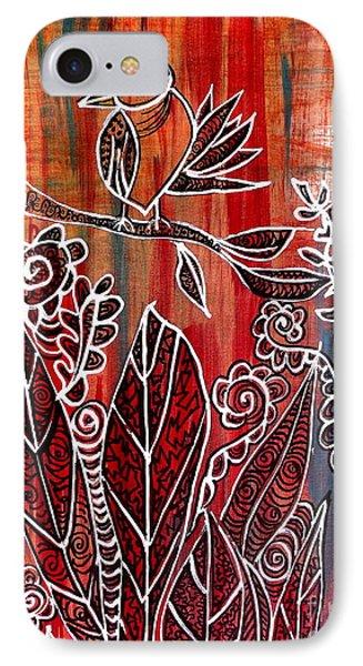 Little Birdie IPhone Case by Julie  Hoyle