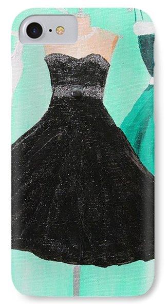 Little Black Dress IPhone Case