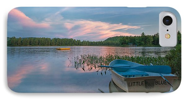 Little Blue IPhone Case by Darylann Leonard Photography