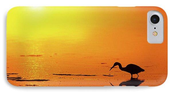 Little Blue Heron (egretta Caerulea IPhone Case
