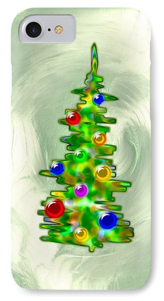 Little Christmas Tree IPhone Case by Anastasiya Malakhova