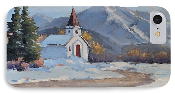Little Church In The Carphatian Mountains IPhone Case