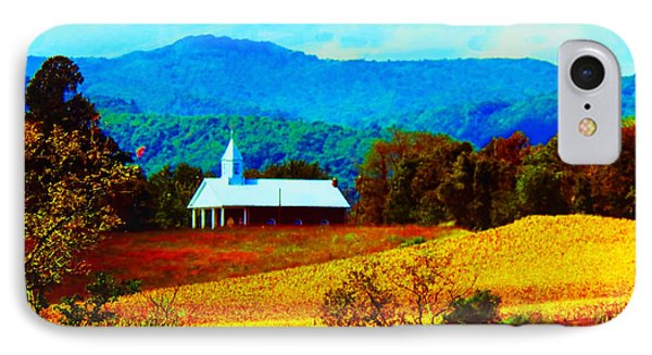 Little Church In The Mountains Of Wv IPhone Case by Gena Weiser