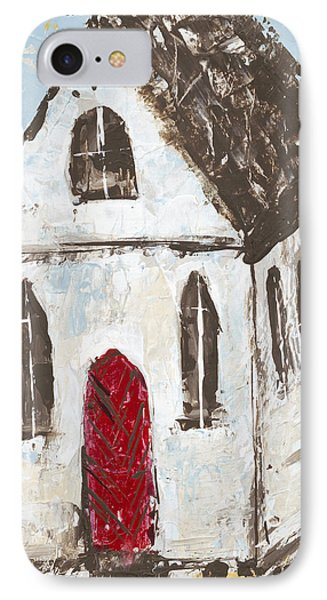 Little Church IPhone Case by Kirsten Reed