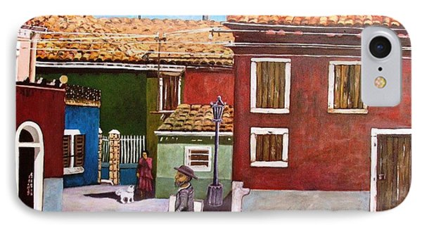 Little Corner Of Venice Phone Case by Caroline Street