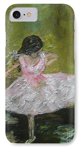 Little Dansarina Phone Case by Reina Resto