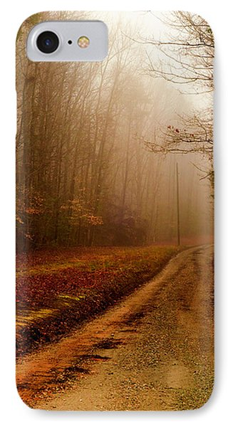 Little Dirt Road IPhone Case by Laura DAddona