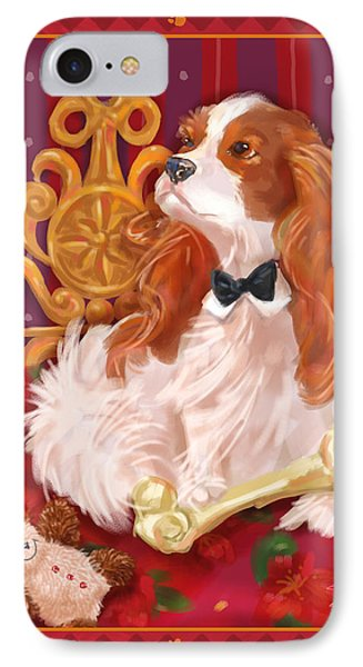 Little Dogs - Cavalier King Charles Spaniel IPhone Case