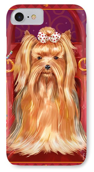 Little Dogs - Yorkshire Terrier IPhone Case