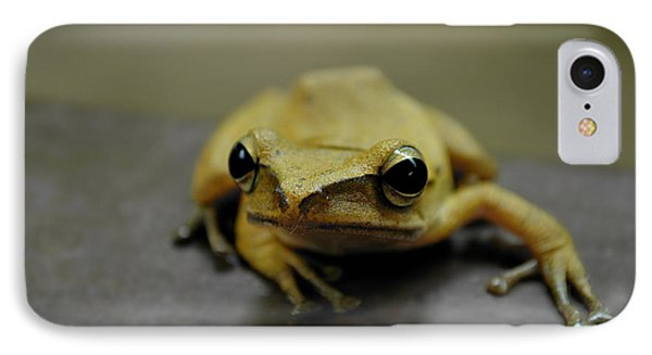 IPhone Case featuring the photograph Little Frog by Michelle Meenawong