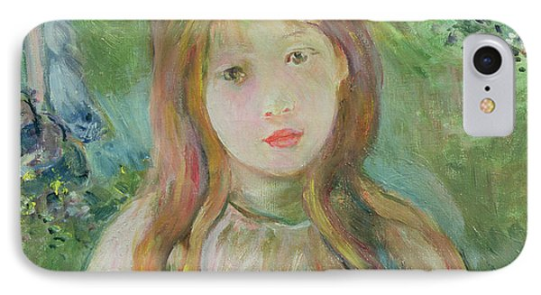 Little Girl At Mesnil, 1892 IPhone Case