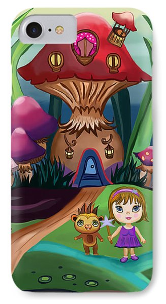 Little Girl IPhone Case by Bogdan Floridana Oana