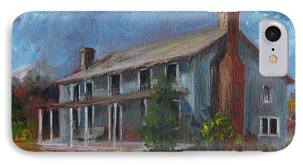 Little Granny's Home Place IPhone Case by Gloria Turner