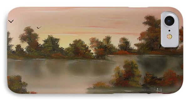 Little Haven At Sunset Phone Case by Cynthia Adams