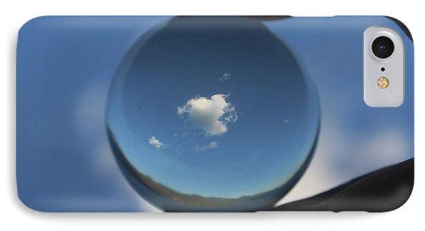 Little Heart Cloud IPhone Case by Cathie Douglas