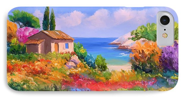 Little House By The Sea IPhone Case by Tim Gilliland