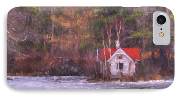Little House On The Lake IPhone Case