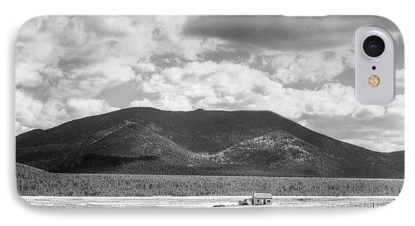 Little House On The Prairie IPhone Case by Dave Beckerman