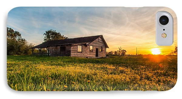Little House On The Prairie IPhone Case by Davorin Mance