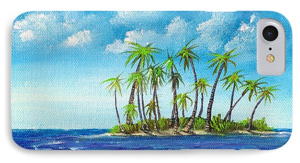 Little Island IPhone Case