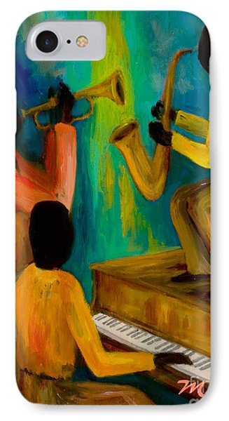 Little Jazz Trio I Phone Case by Larry Martin