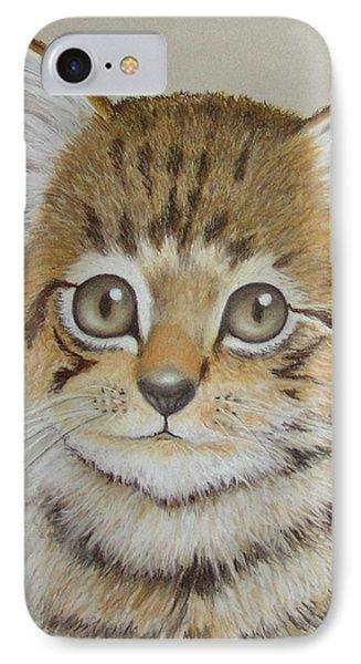 Little Kitty IPhone Case by Janet Garcia