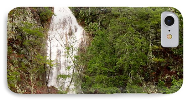 Little Laurel Branch Falls Landscape IPhone Case