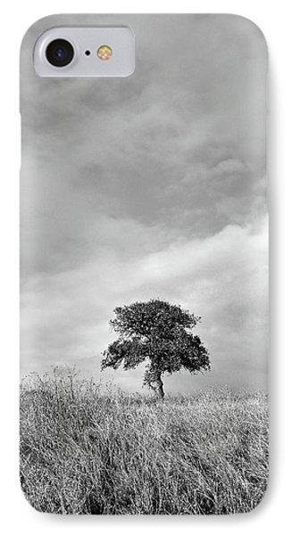 Little Lone Oak Tree IPhone Case