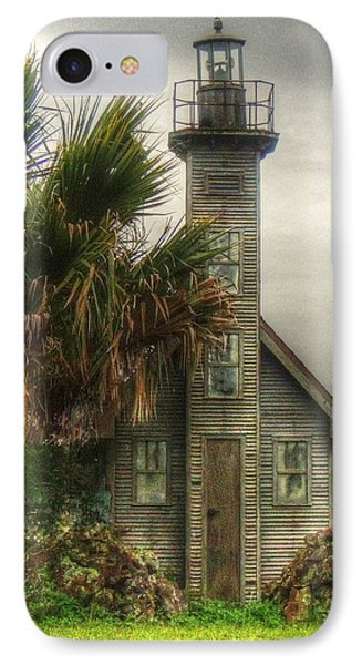 Little Lost Lighthouse IPhone Case by Myrna Bradshaw