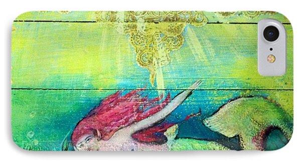 Little Mermaid  Phone Case by Michaela Kraemer