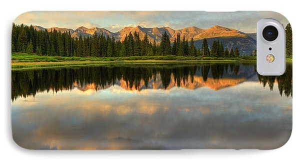 IPhone Case featuring the photograph Little Molas Lake At Sunset by Alan Vance Ley