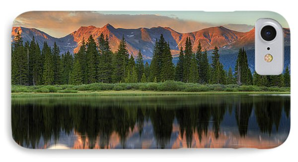IPhone Case featuring the photograph Little Molas Lake Sunset 2 by Alan Vance Ley