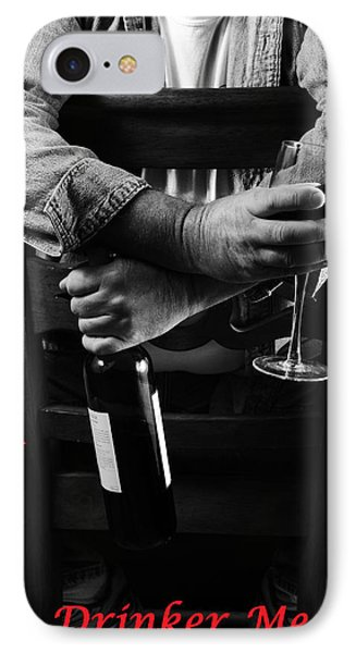 IPhone Case featuring the photograph Little Old Wine Drinker Me by Duncan Selby