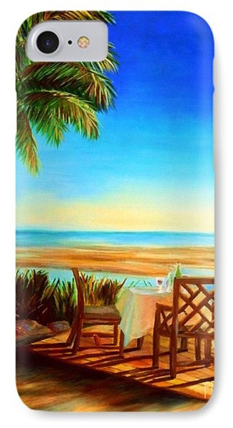 Little Palm Island - Little Torch Key IPhone Case by Shelia Kempf