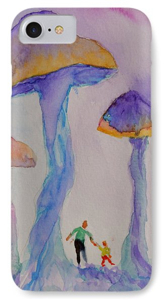 Little People Phone Case by Beverley Harper Tinsley
