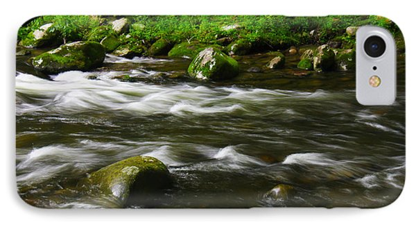 Little Piegon River Gatlinburg Tennessee IPhone Case by Jerome Lynch