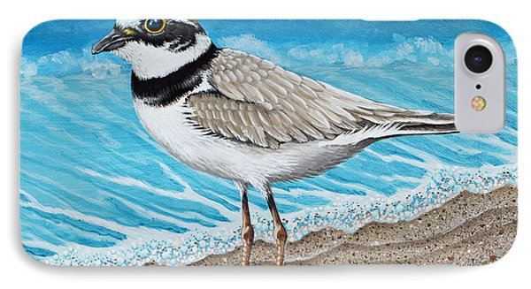 Little Plover IPhone Case by Tish Wynne