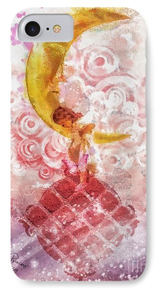 Little Princess IPhone Case by Mo T