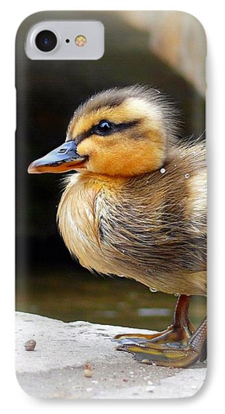 IPhone Case featuring the photograph Little Quack by Morag Bates