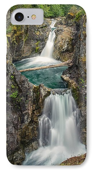 Little Qualicum Falls Phone Case by Carrie Cole