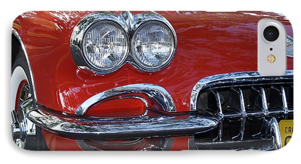 Little Red Corvette Phone Case by Bill Gallagher