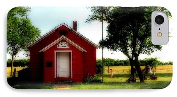 Little Red School House Phone Case by Kathleen Struckle