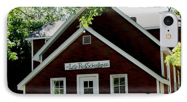 Little Red Schoolhouse Phone Case by Gail Matthews